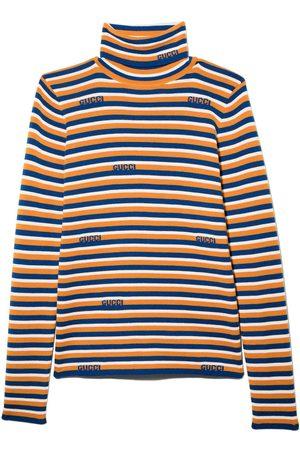 Gucci Striped long sleeve jumper