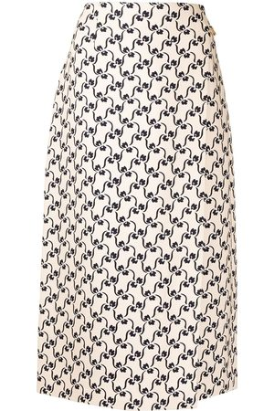 Tory Burch Patterned maxi skirt