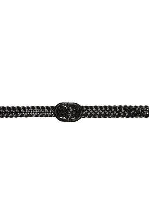 Totême Leather Slim Braided Belt