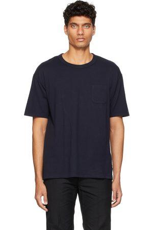 VISVIM Navy Jumbo T-Shirt