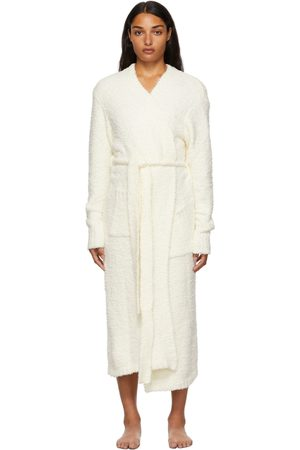 SKIMS Off- Cozy Knit Long Robe