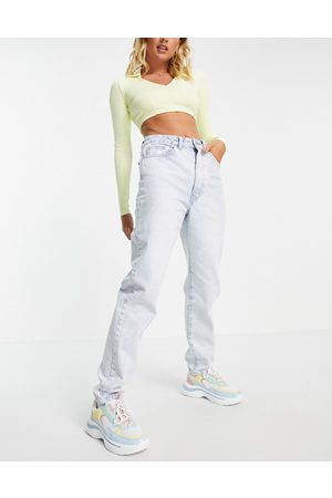 Cotton On High rise mom jean in light wash