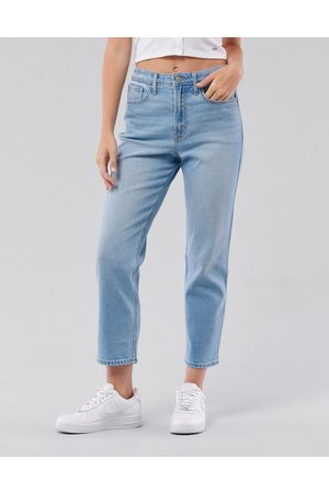Hollister Straight leg jeans in mid wash