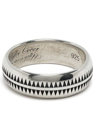 UNDERCOVER Men Rings - Polished engraved ring