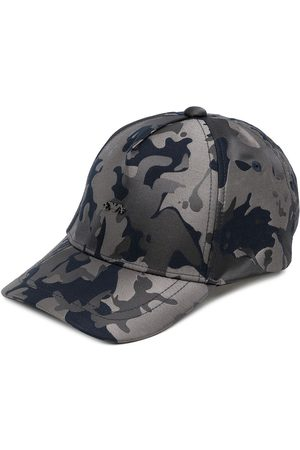 Emporio Armani Camouflage-print cap