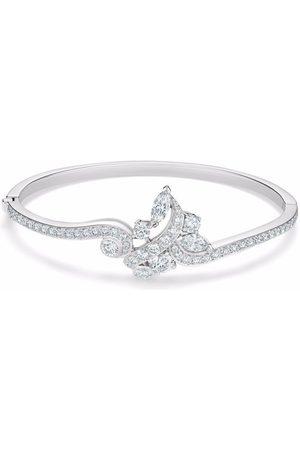De Beers 18kt white gold Adonis Rose diamond bangle