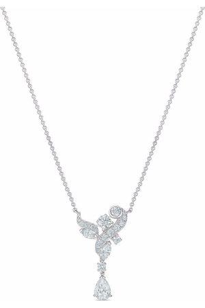 De Beers 18kt white gold Adonis Rose diamond pendant necklace