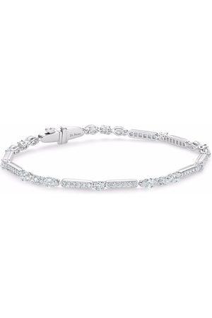 De Beers 18kt white gold Snow Dance diamond bracelet