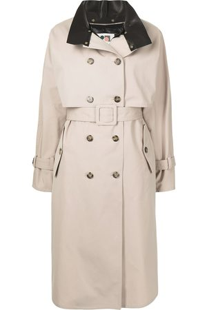 PORTS 1961 High neck trench coat