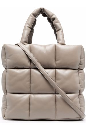 Stand Studio Padded quilted tote