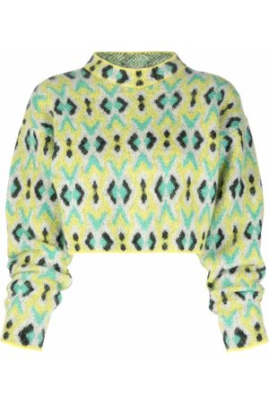 Emilio Pucci Women Jumpers - Diamond-jacquard knitted jumper