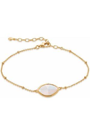 Monica Vinader Moonstone petal bracelet