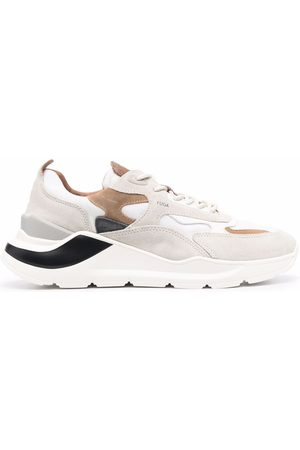 D.A.T.E. Fuga panelled low-top sneakers