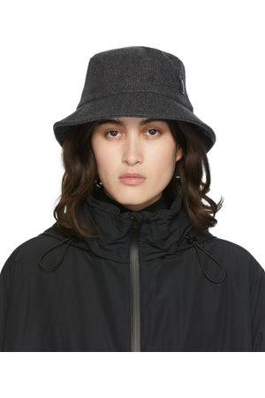 JUUN.J Flocked Bucket Hat