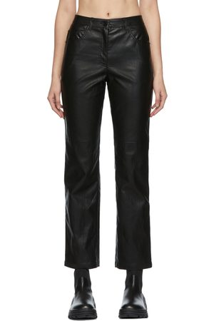 JUUN.J Women Leather Pants - Faux-Leather Pants