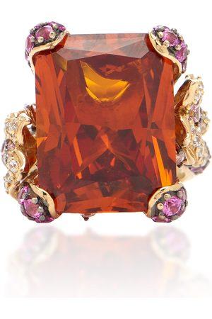 Anabela Chan Women's Cinderella 18K Yellow Gold Multi-Stone Ring