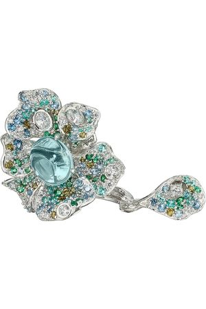 Anabela Chan Women's Peony 18K White Gold Multi-Stone Ring