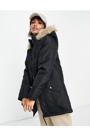 VERO MODA Women Parkas - Parka with faux fur lined hood in