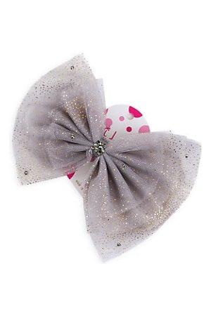 Bari Lynn Girl's Tulle Bow Clip