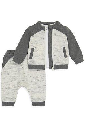 Miniclasix Baby Boy's 3-Piece Jacket, T-Shirt & Joggers Set
