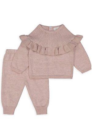 Miniclasix Baby Girl's 2-Piece Sweater & Joggers Set