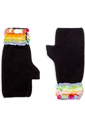 Bari Lynn Girl's Marching Fingerless Sequin Gloves