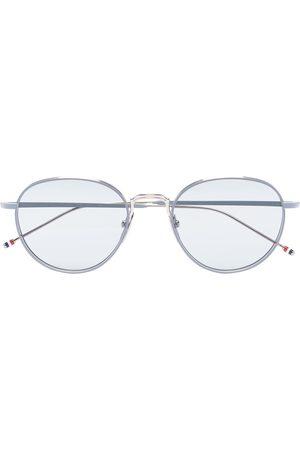 Thom Browne Men Sunglasses - Round titanium sunglasses