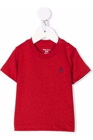 Ralph Lauren Baby Short Sleeve - Embroidered logo T-shirt