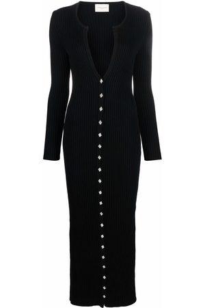GIUSEPPE DI MORABITO Women Knitted Dresses - Ribbed knit maxi dress