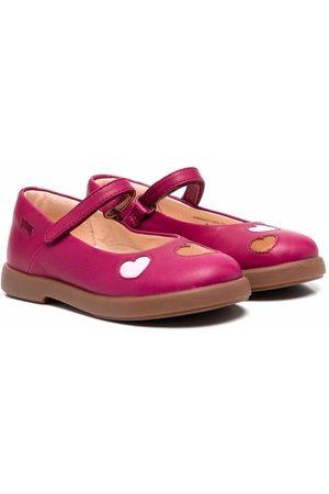 Camper TWS heart-motif ballerina shoes