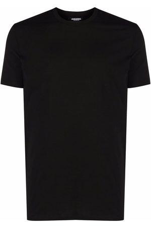 Dsquared2 Men Short Sleeve - Logo-print stretch-cotton T-shirt
