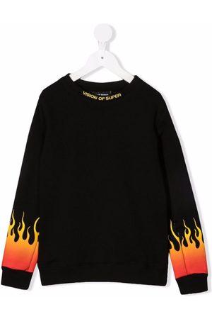 Vision Of Super Logo crew-neck sweatshirt