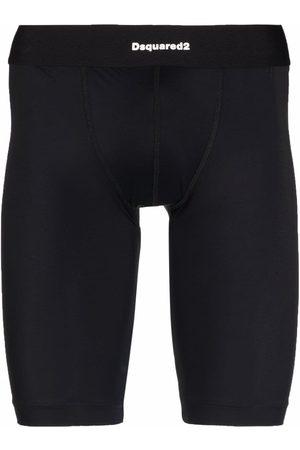 Dsquared2 Men Leggings - Logo waistband thermal leggings