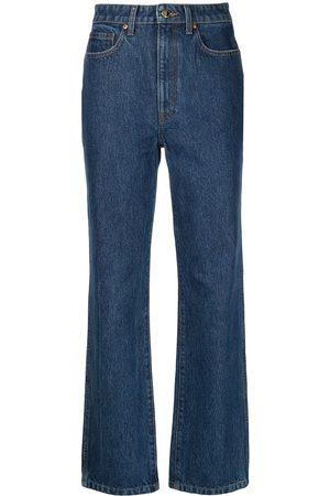 Khaite Women High Waisted - Abigail high-waisted denim jeans