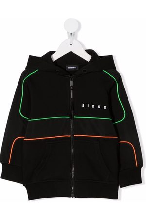 Diesel Logo hooded jacket