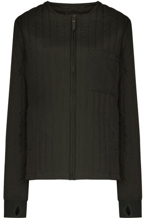 Rains Liner quilted zipped jacket