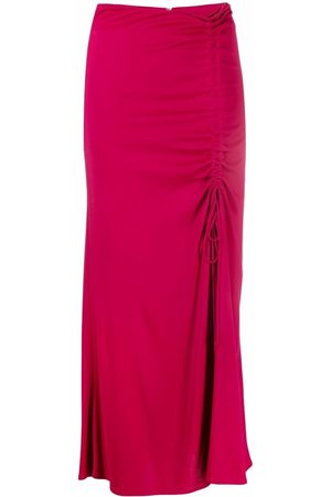 Pinko Ruched mid-length skirt