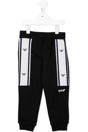 Emporio Armani Boys Pants - Logo-print track pants