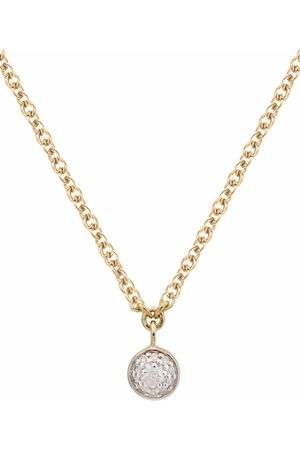 Monica Vinader Fiji tiny button drop necklace