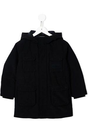 Emporio Armani Concealed-front coat