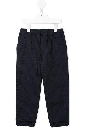 Emporio Armani Elasticated-waist trousers