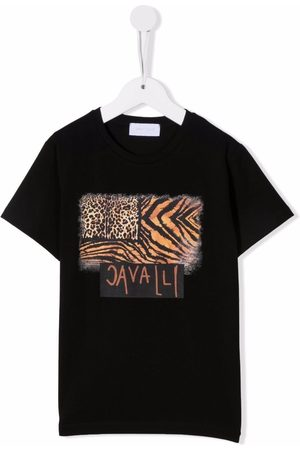 Roberto Cavalli Logo-print T-shirt