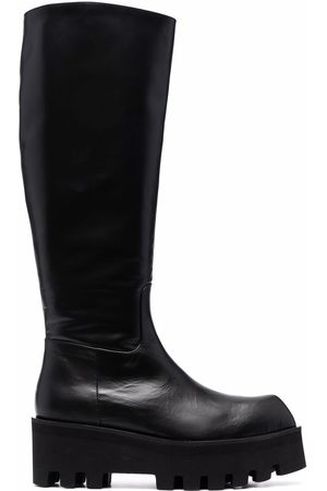 Paloma Barceló Women Knee High Boots - Leather knee-length boots
