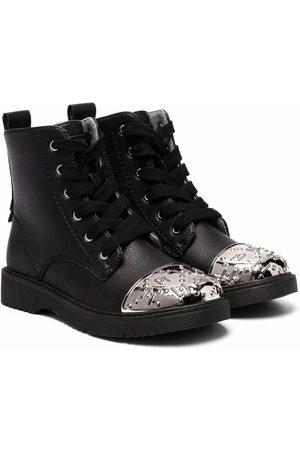Liu Jo Pat 19 metallic toe boots