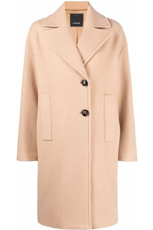 Pinko Single-breasted buttoned coat
