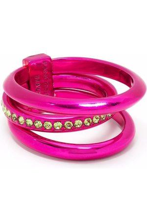 Panconesi Solar Crystal stacked ring