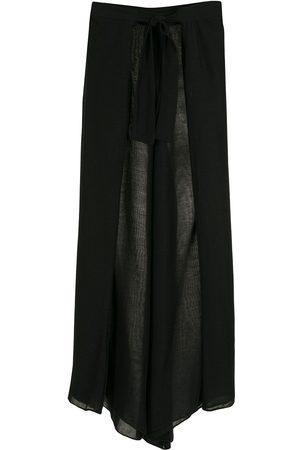 AMIR SLAMA Box-pleat palazzo pants