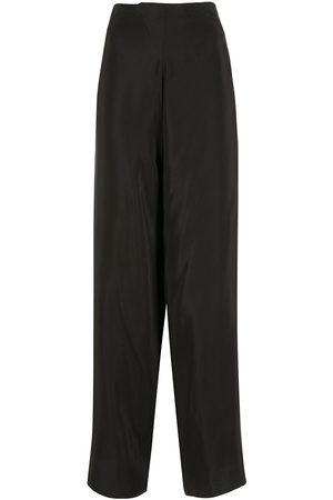 AMIR SLAMA Silk palazzo pants