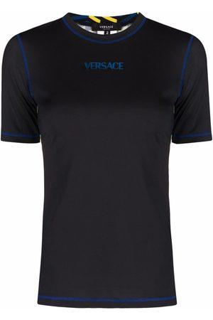 VERSACE Contrast-stitching logo T-shirt
