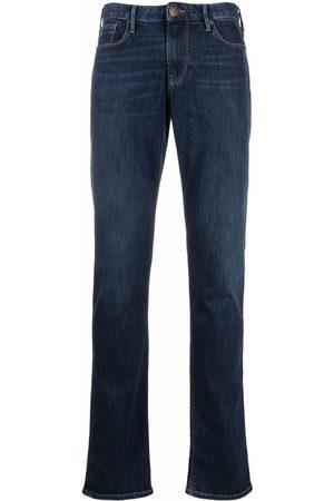 Emporio Armani Men Straight - Mid-rise straight leg jeans